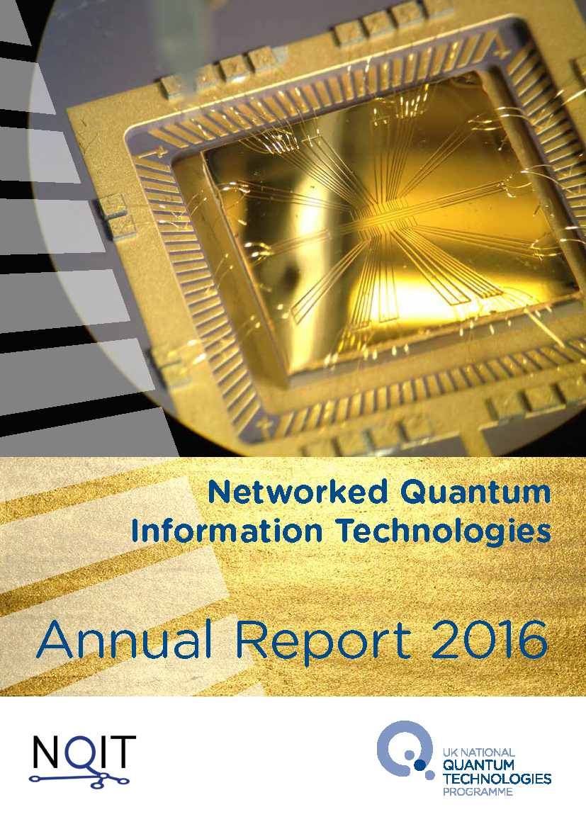NQIT Annual Report Cover