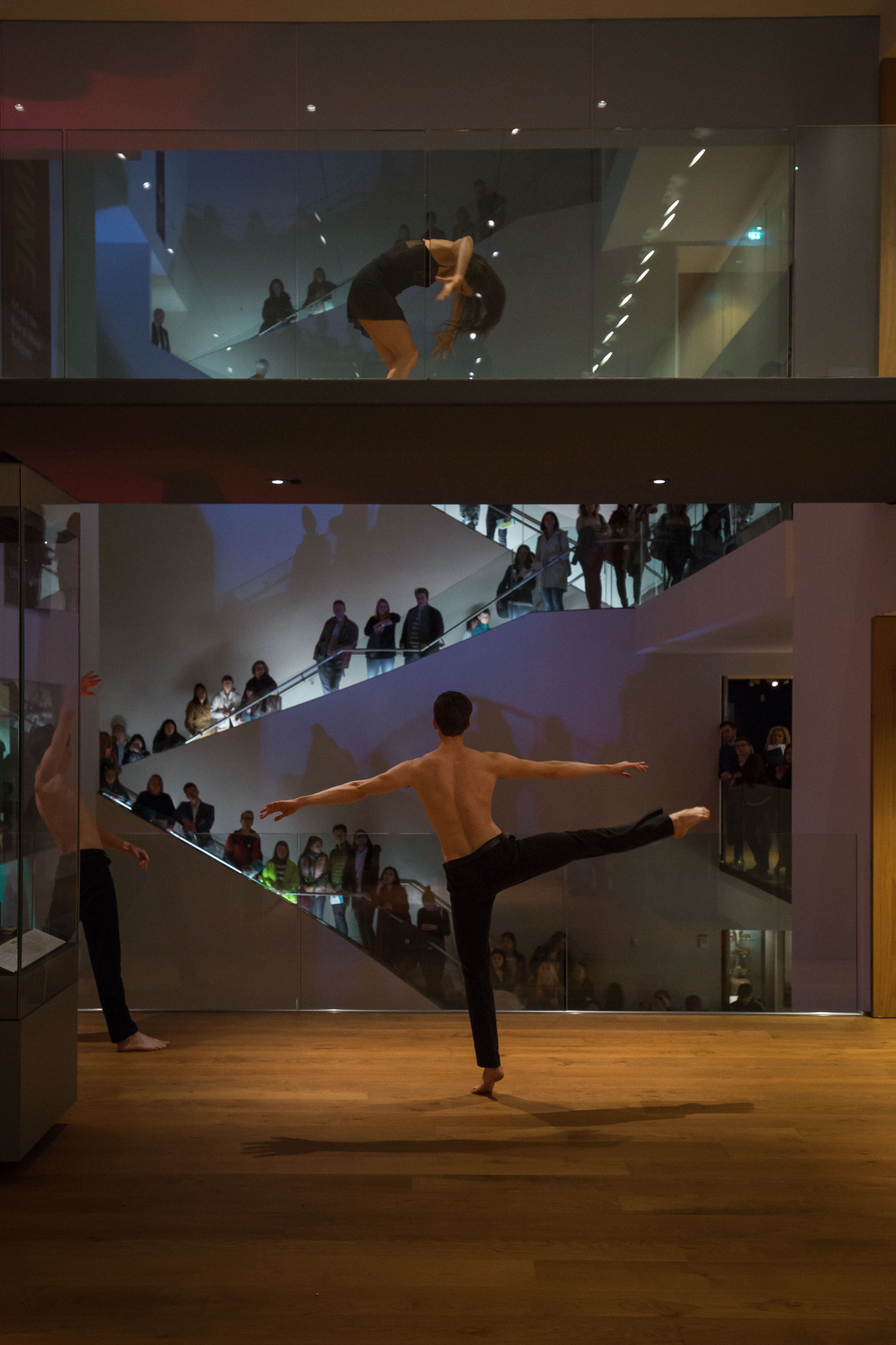 Dance performance at the Ashmolean Museum