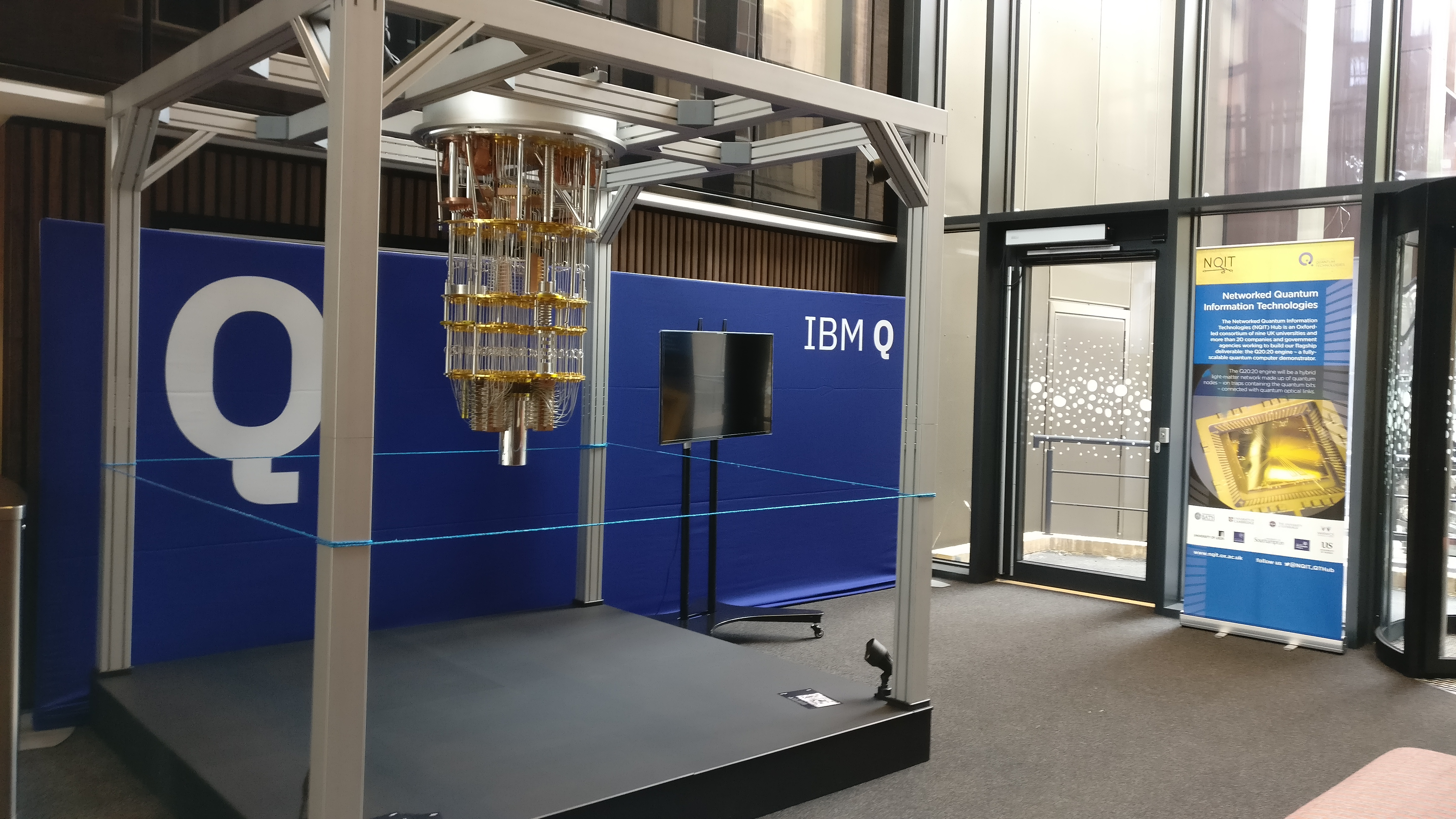 Come and take a look at IBM's Quantum Computer! | NQIT