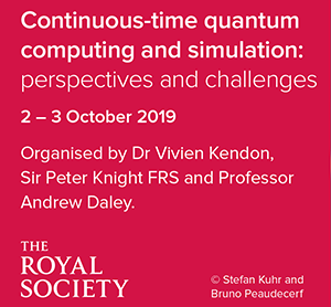 Royal Society event 2 - 3 October