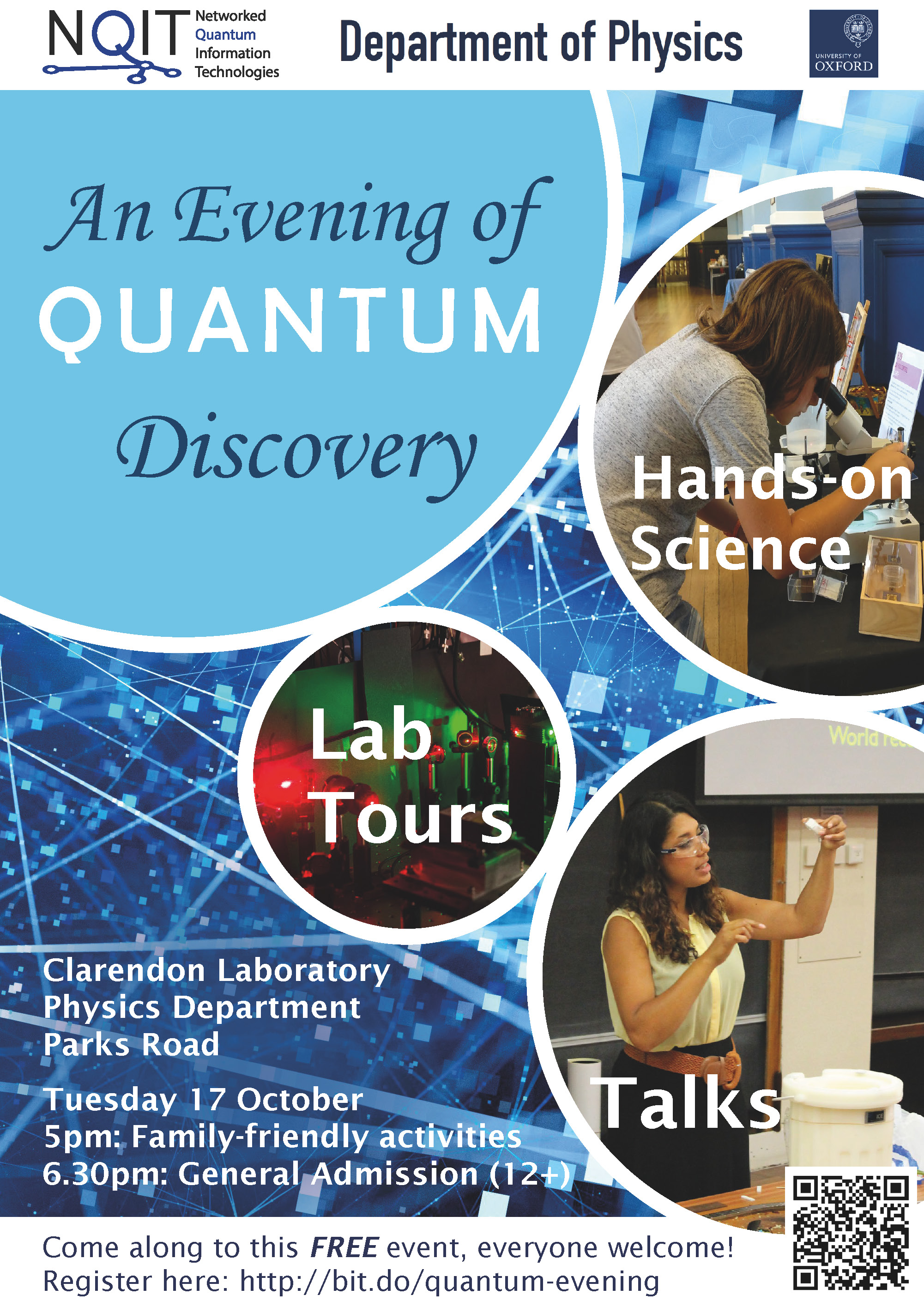 An Evening of Quantum Discovery