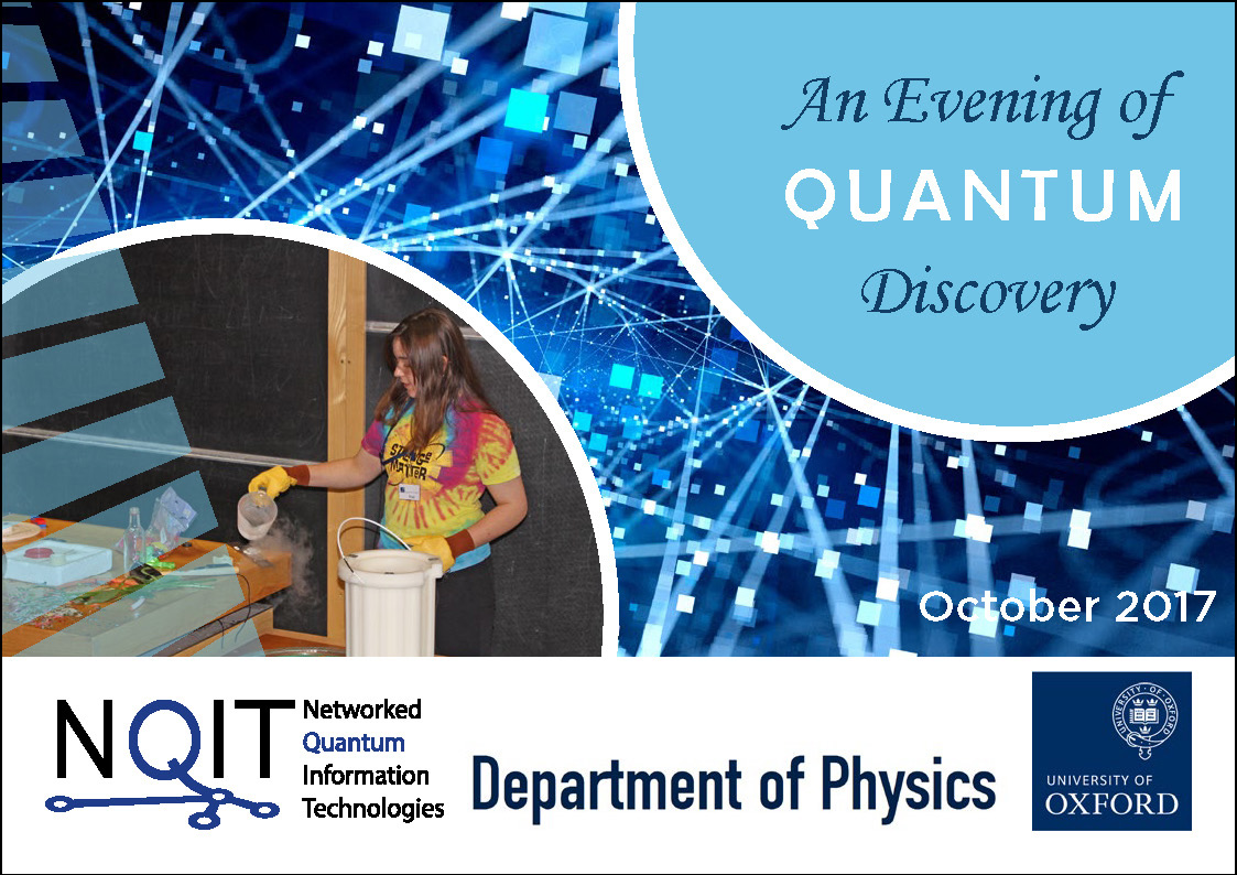 An Evening of Quantum Discovery Report