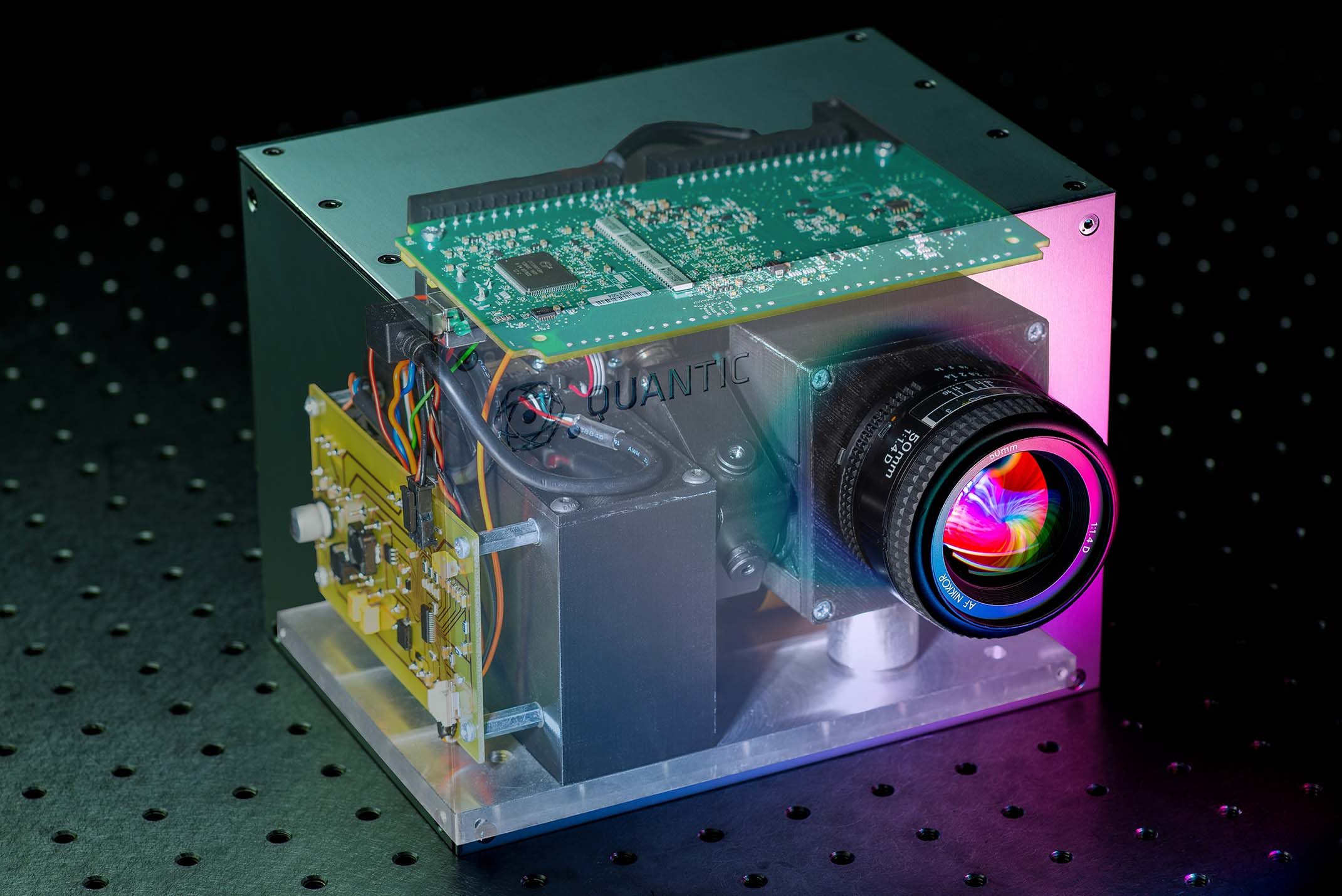 The Single Pixel Camera from QuantIC in Glasgow, Scotland (UK)