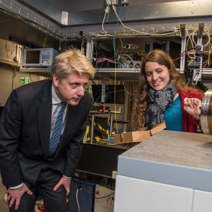 Jo Johnson MP visiting our labs in Oxford