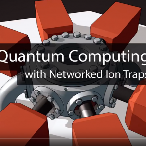 Quantum Computing with Networked Ion Traps